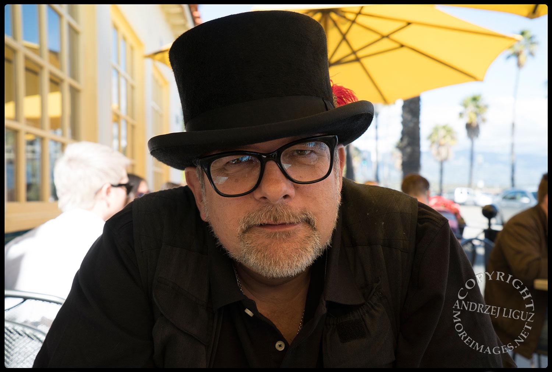 Andrzej (Andy) Liguz at Sambo's Cafe, Santa Barbara, CA 2015-03-01