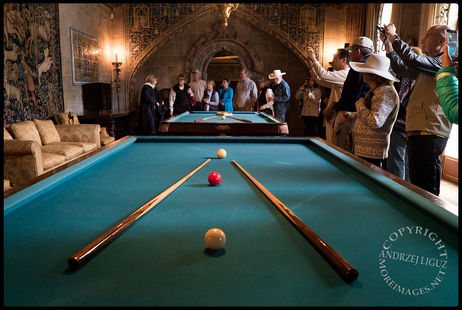 Pool Room, Hearst Castle, San Simeon, CA 2015-03-02