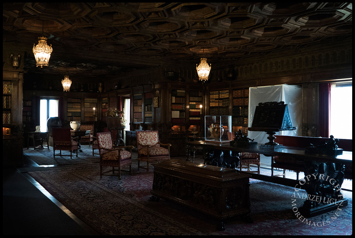 The Library, Hearst Castle, San Simeon, CA 2015-03-02