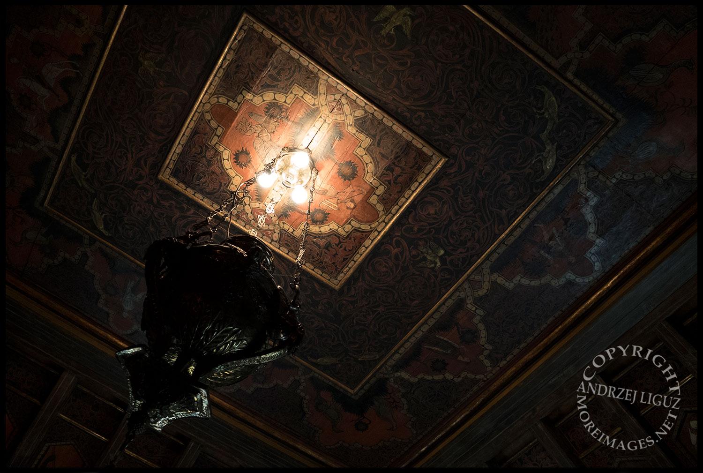 Ceiling detail, Hearst Castle, San Simeon, CA 2015-03-02