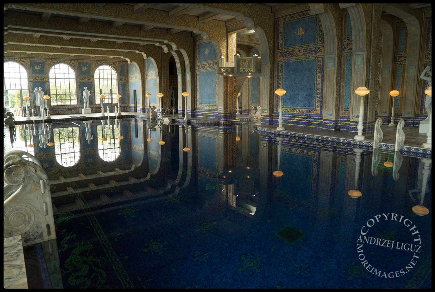 The Swimming Pool at Hearst Castle, San Simeon, CA 2015-03-02