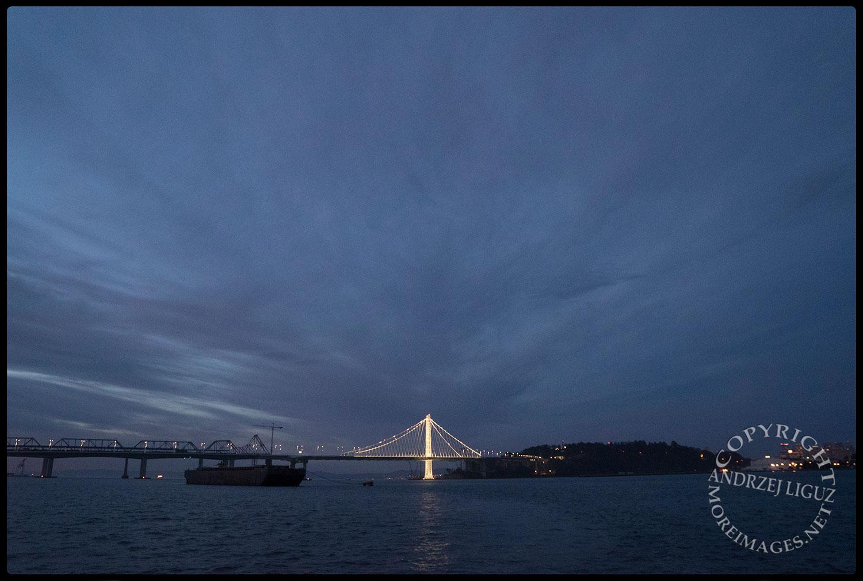 The Bay Bridge, San Francisco Bay, CA 2015-03-15