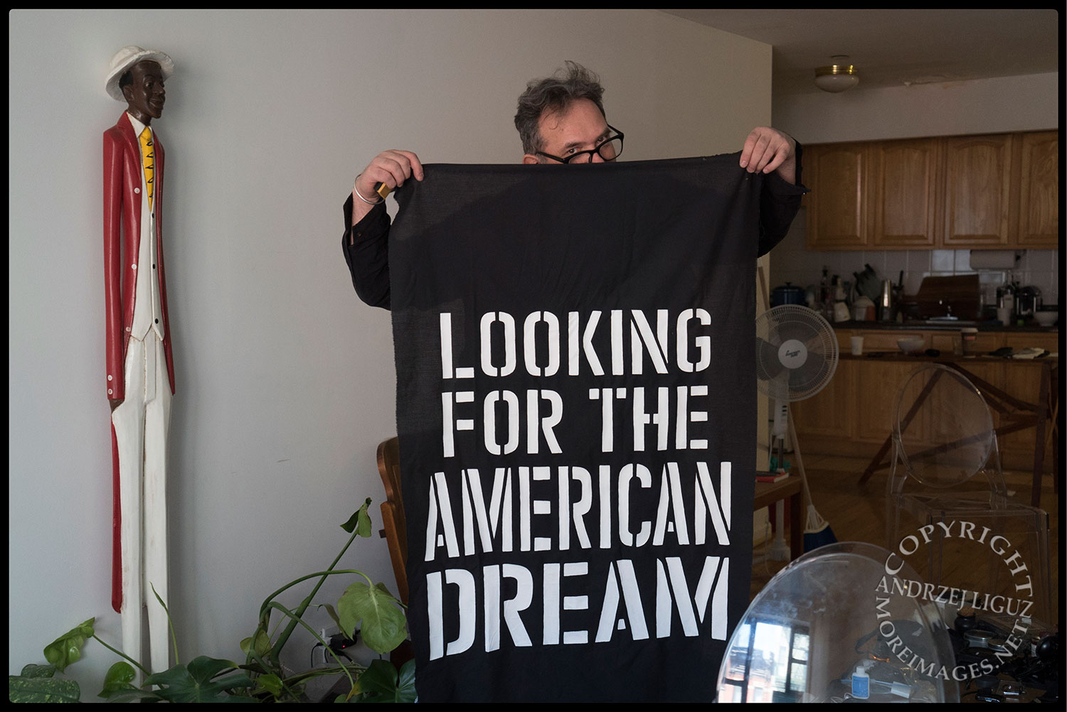 Still in NYC, looking for the American Dream