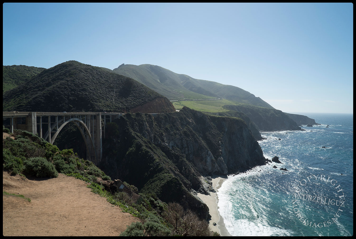Bixby Creek Bridge in the Big Sur